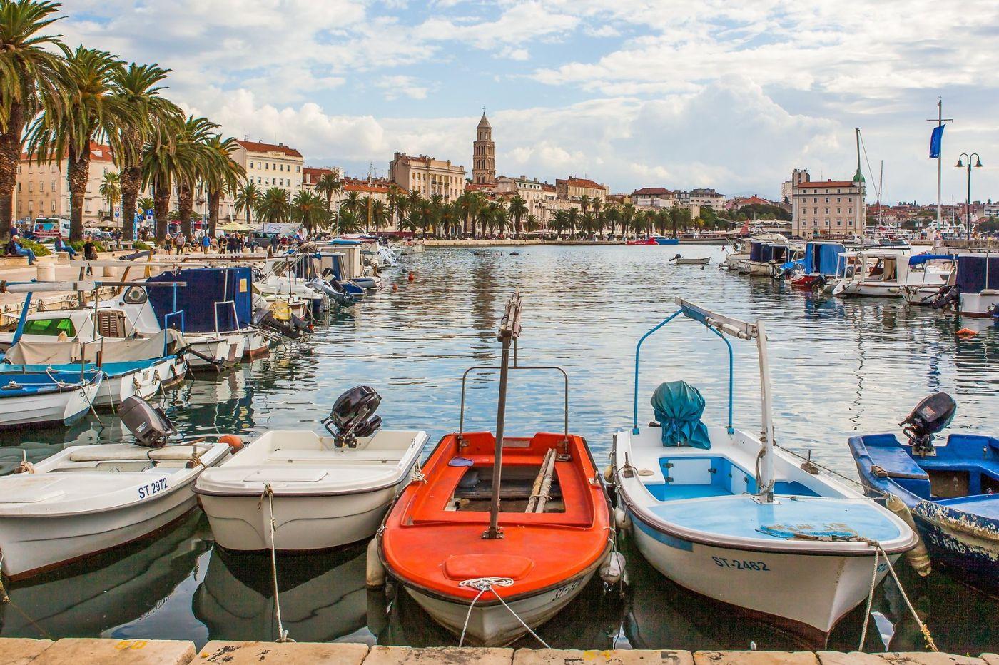 克罗地亚斯普利特(Split),美丽海滨城市_图1-17