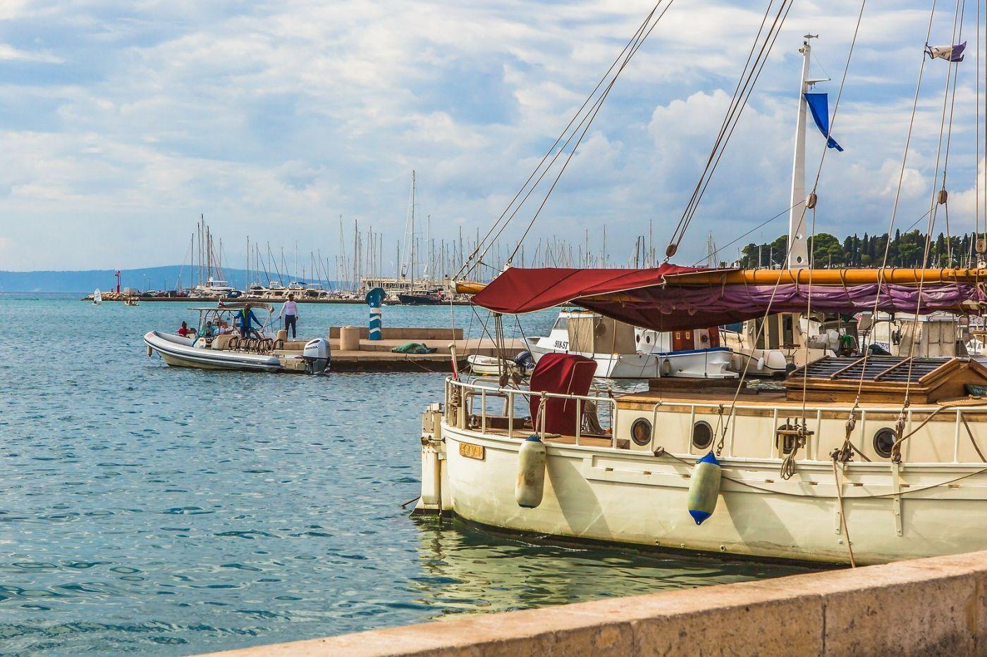 克罗地亚斯普利特(Split),美丽海滨城市_图1-18