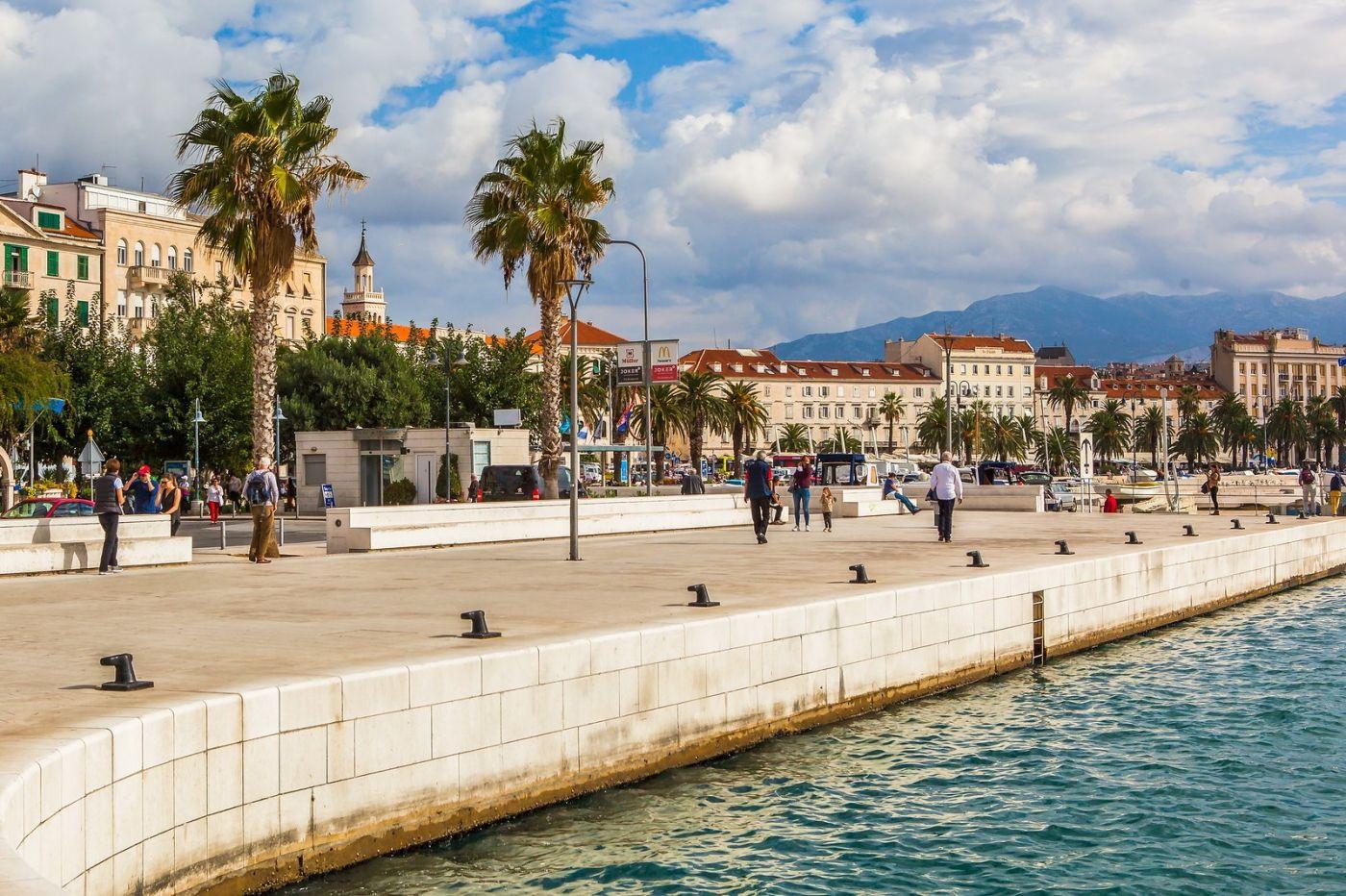 克罗地亚斯普利特(Split),美丽海滨城市_图1-19