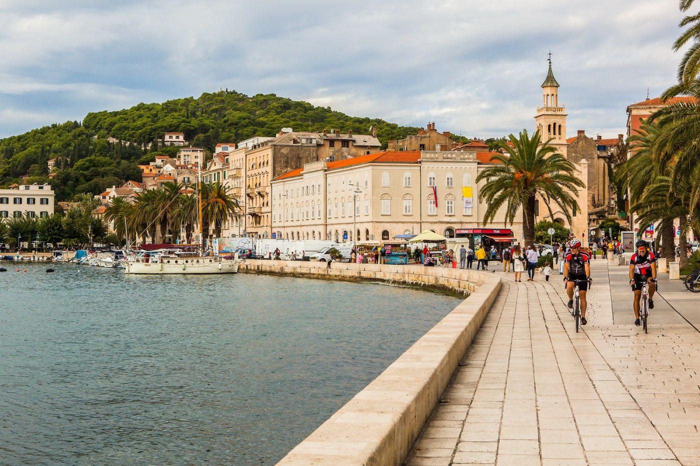 克罗地亚斯普利特(Split),美丽海滨城市_图1-20