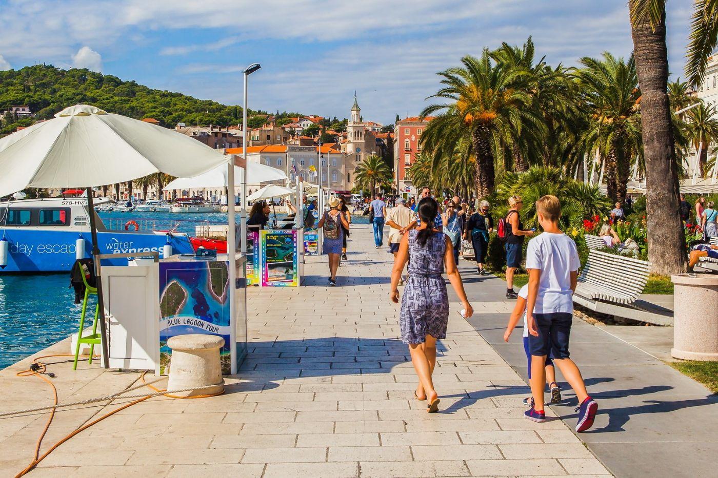克罗地亚斯普利特(Split),美丽海滨城市_图1-16