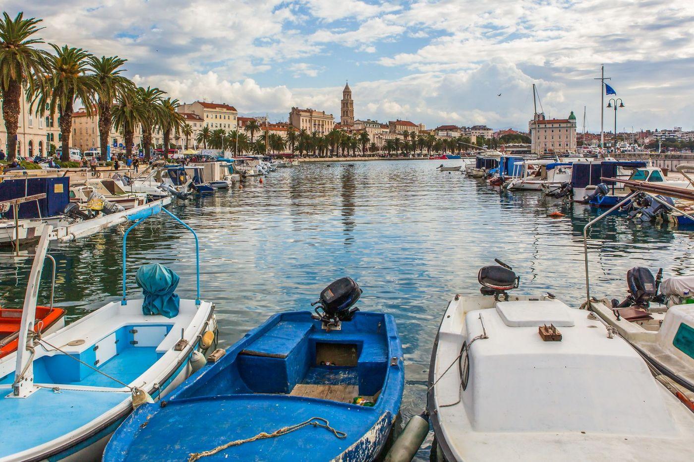 克罗地亚斯普利特(Split),美丽海滨城市_图1-15