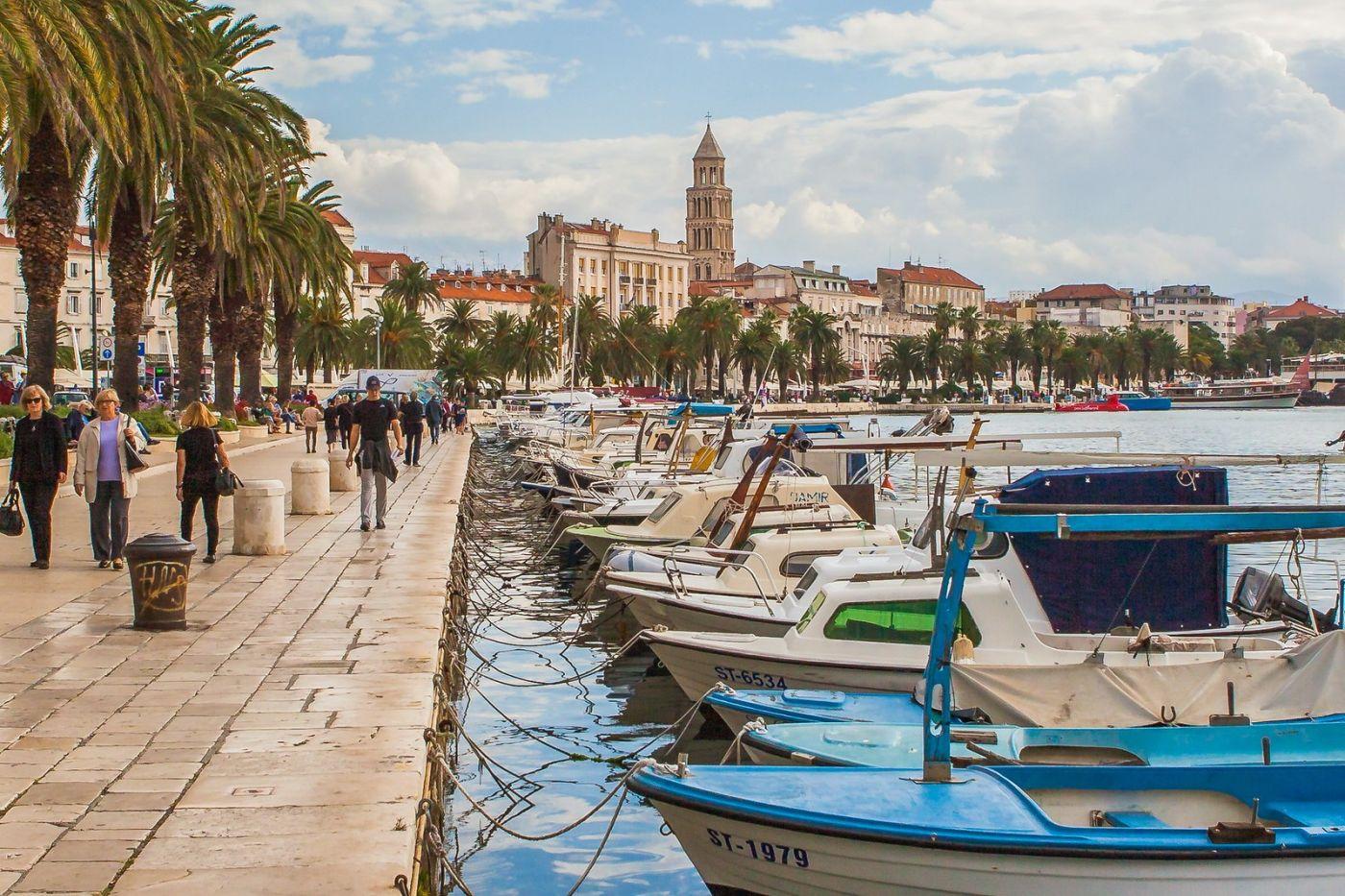 克罗地亚斯普利特(Split),美丽海滨城市_图1-14