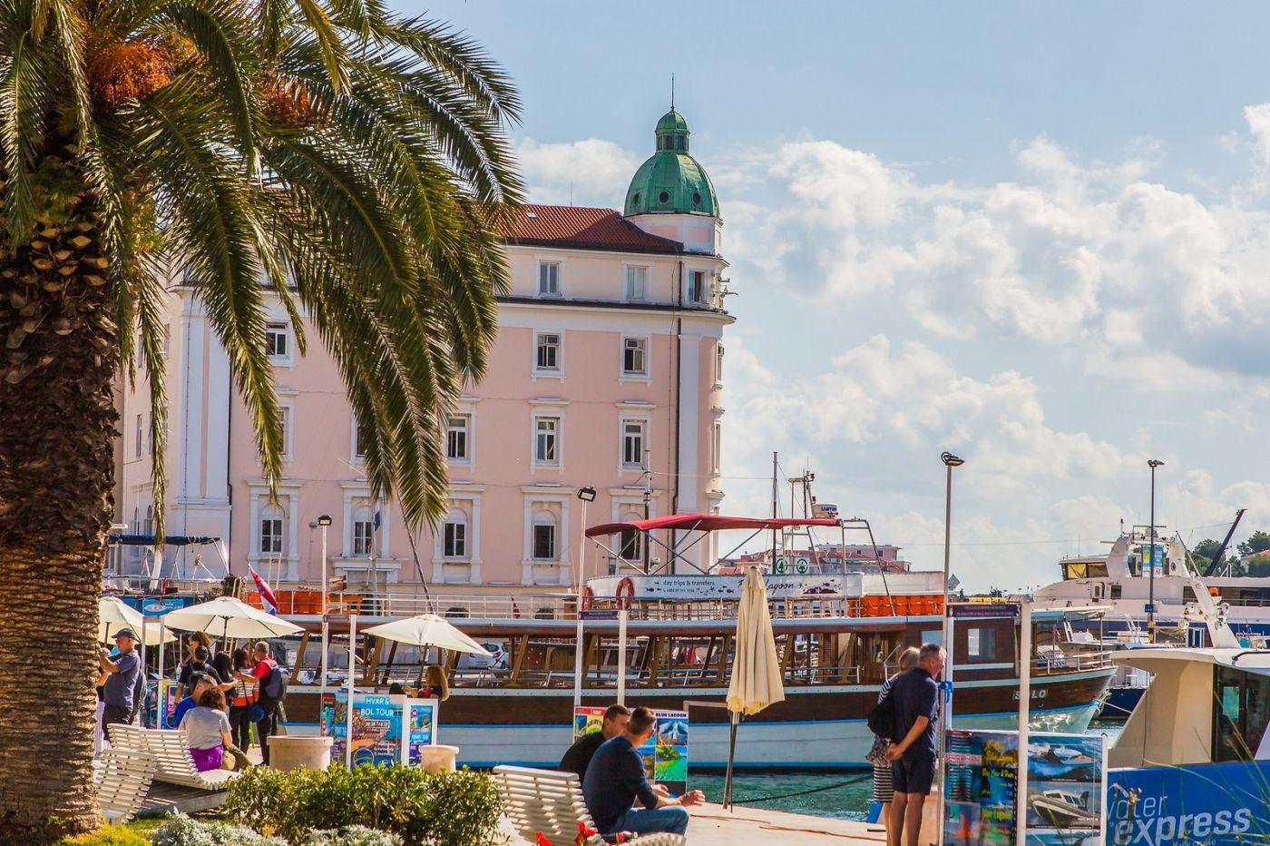 克罗地亚斯普利特(Split),美丽海滨城市_图1-9