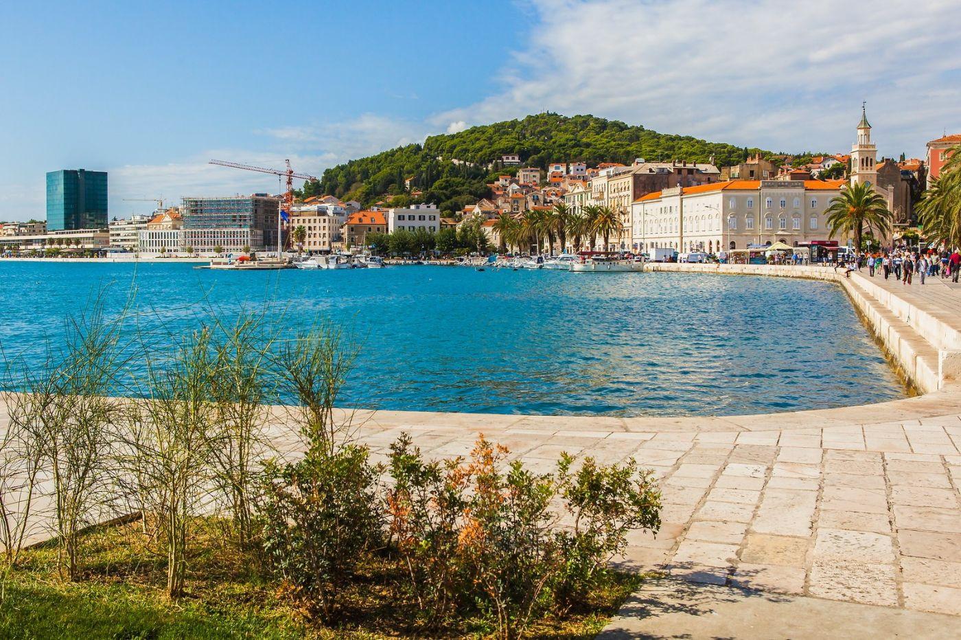 克罗地亚斯普利特(Split),美丽海滨城市_图1-6