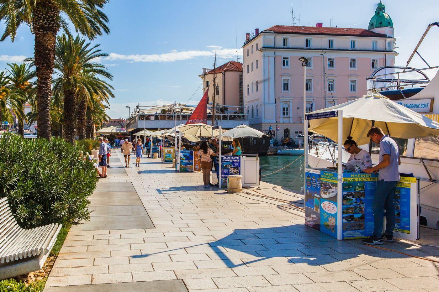 克罗地亚斯普利特(Split),美丽海滨城市_图1-3