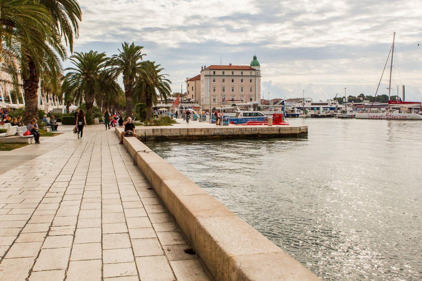 克罗地亚斯普利特(Split),美丽海滨城市_图1-4