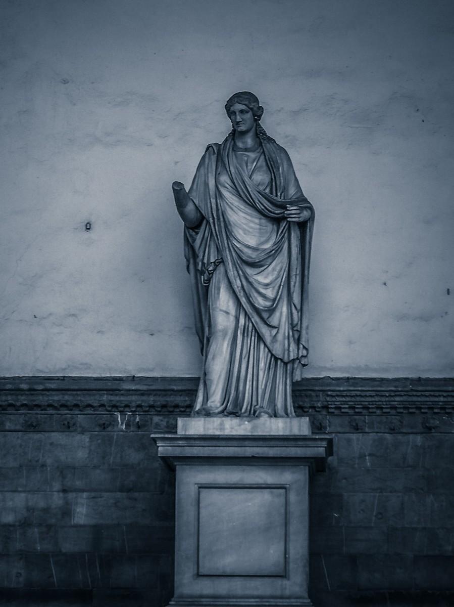 意大利佛罗伦萨,西格诺里亚广场的雕像_图1-16