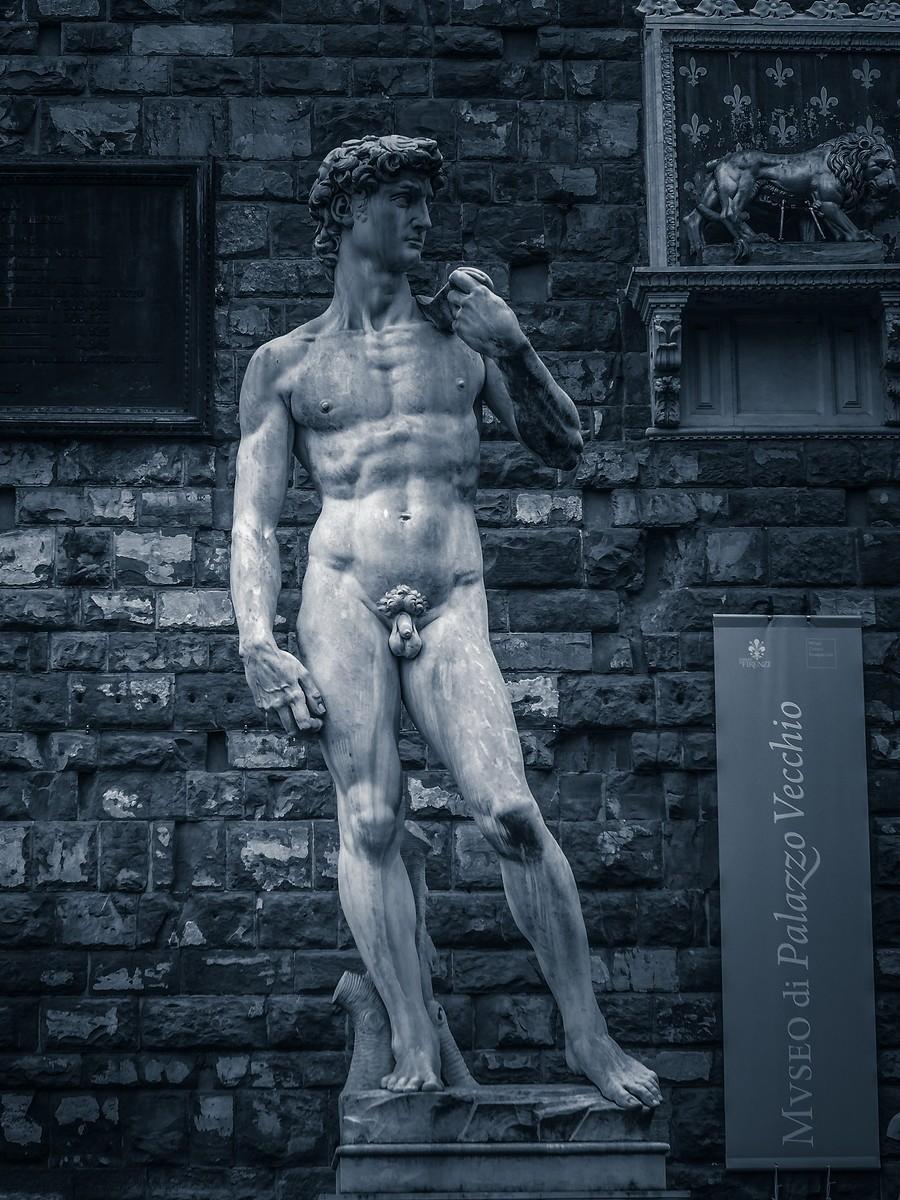 意大利佛罗伦萨,西格诺里亚广场的雕像_图1-20