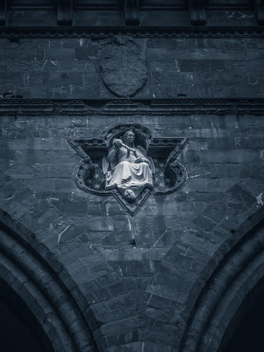 意大利佛罗伦萨,西格诺里亚广场的雕像_图1-21