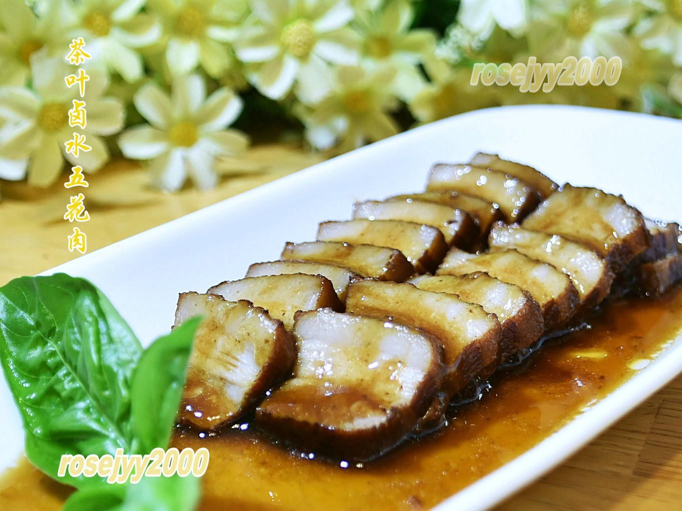 茶叶卤水五花肉_图1-4