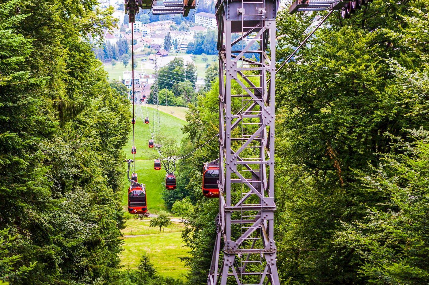 瑞士卢塞恩(Lucerne),坐缆车看风景_图1-30