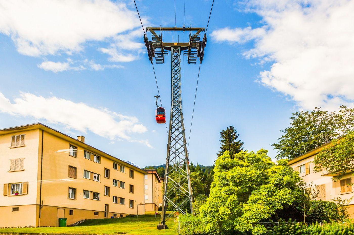 瑞士卢塞恩(Lucerne),坐缆车看风景_图1-26