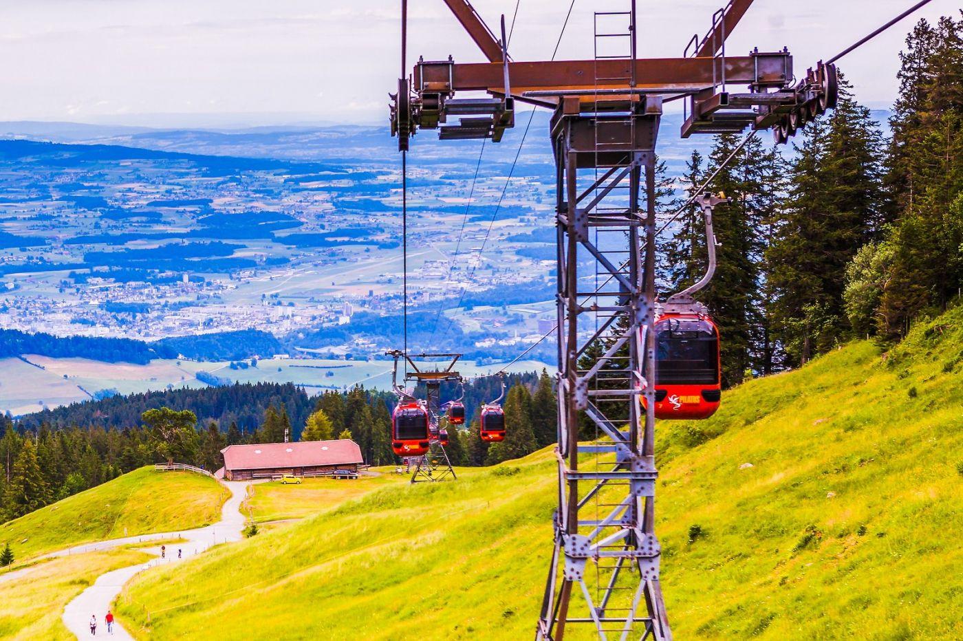 瑞士卢塞恩(Lucerne),坐缆车看风景_图1-28