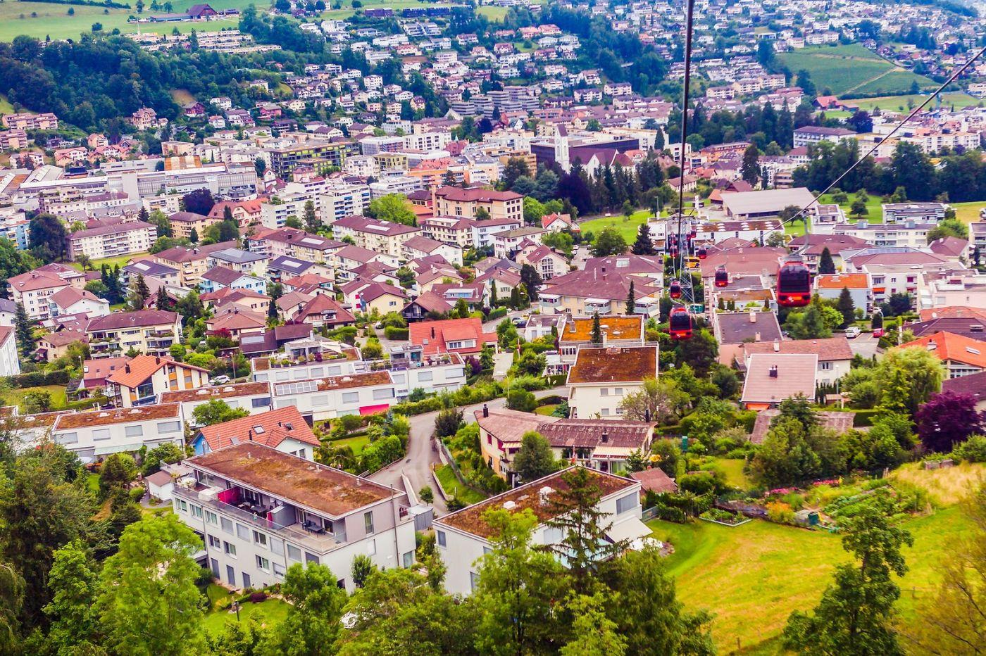 瑞士卢塞恩(Lucerne),坐缆车看风景_图1-25