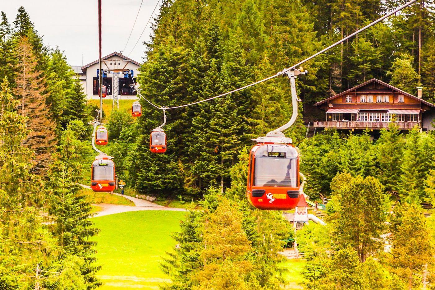 瑞士卢塞恩(Lucerne),坐缆车看风景_图1-22