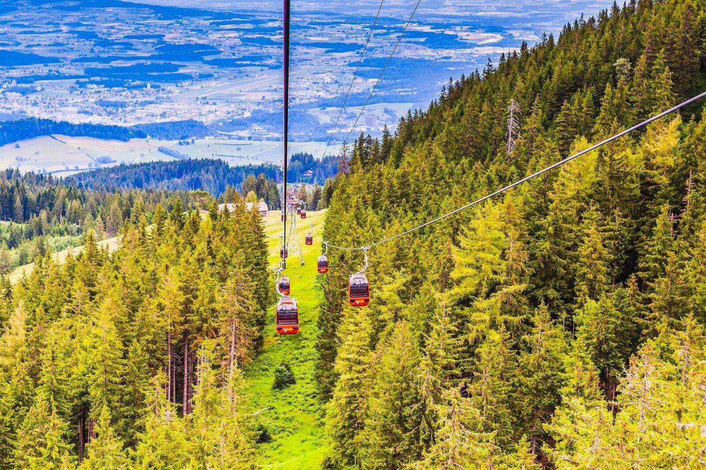 瑞士卢塞恩(Lucerne),坐缆车看风景_图1-17