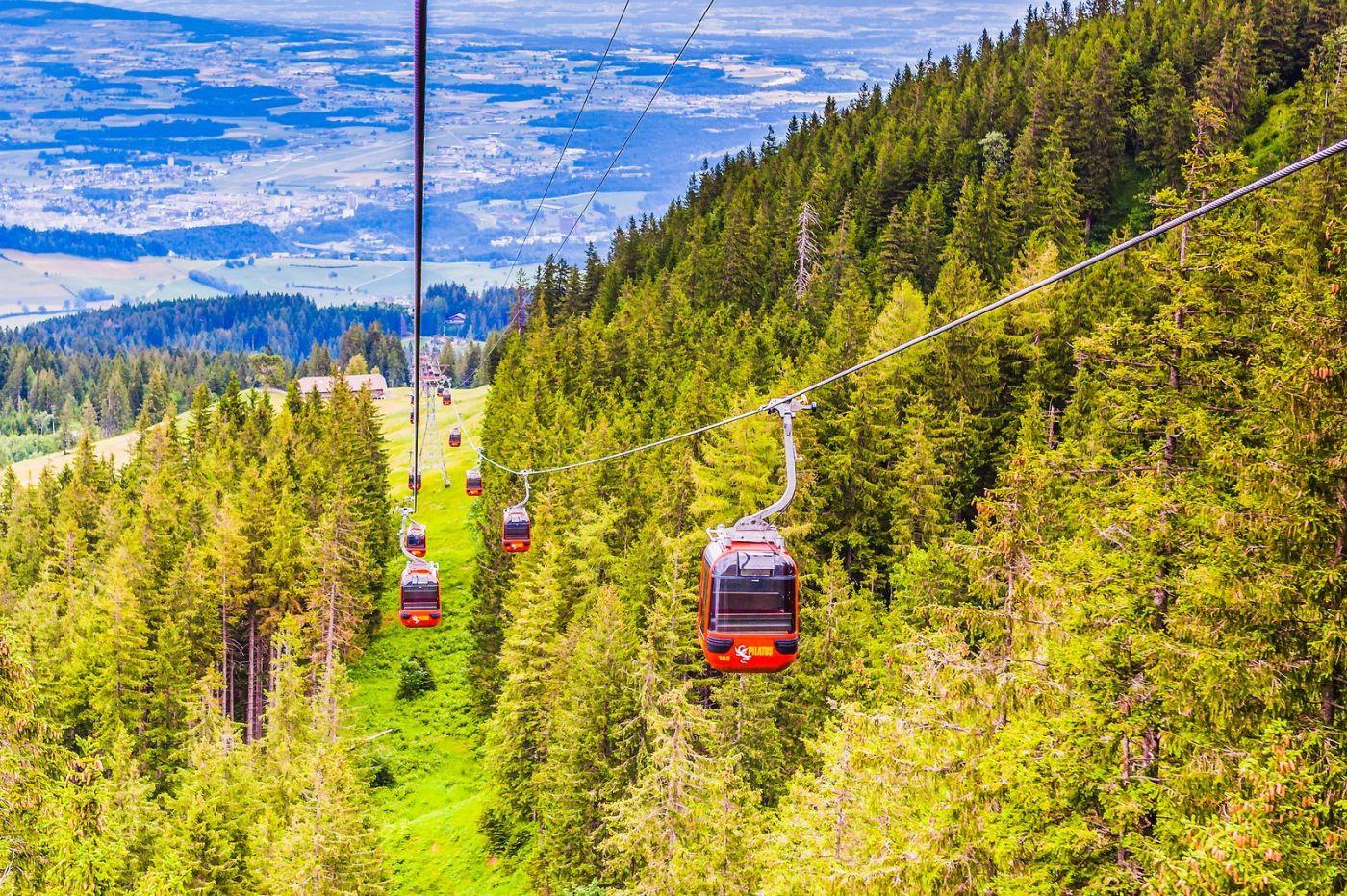 瑞士卢塞恩(Lucerne),坐缆车看风景_图1-14