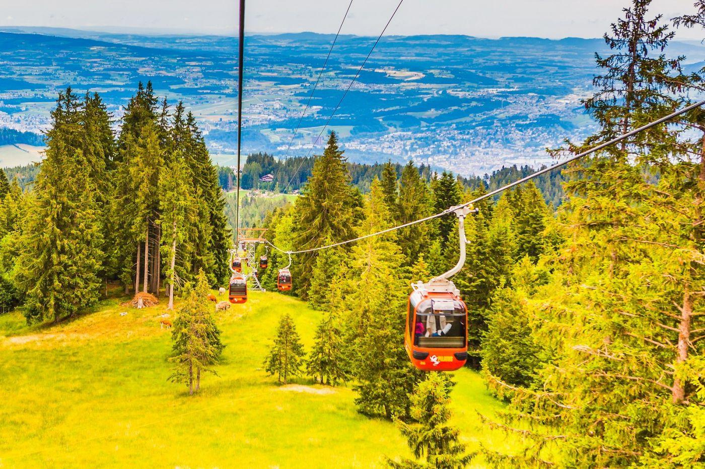 瑞士卢塞恩(Lucerne),坐缆车看风景_图1-4