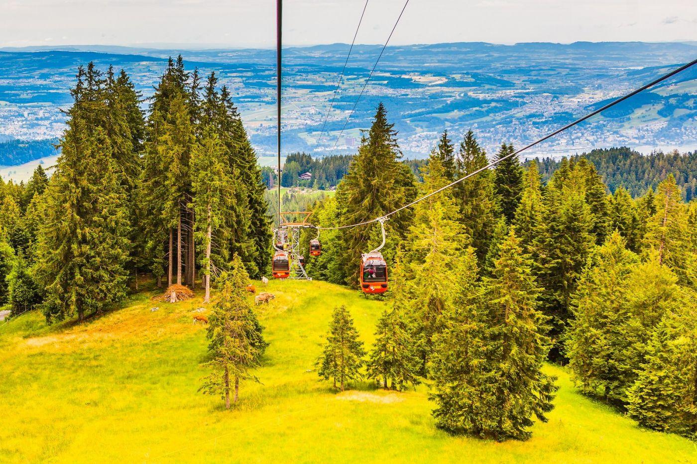 瑞士卢塞恩(Lucerne),坐缆车看风景_图1-5
