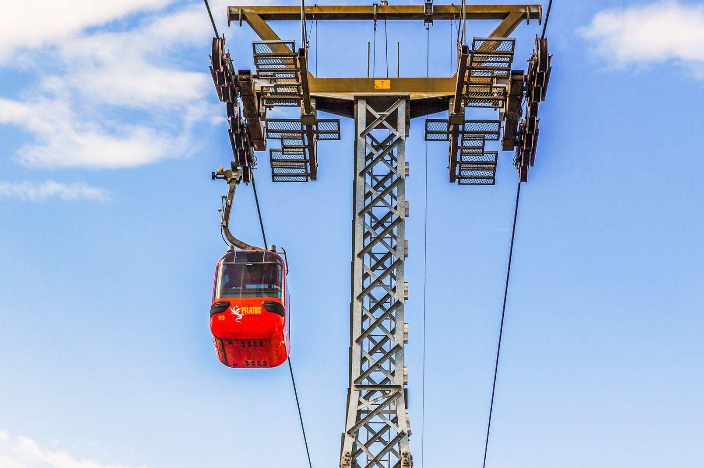 瑞士卢塞恩(Lucerne),坐缆车看风景_图1-7