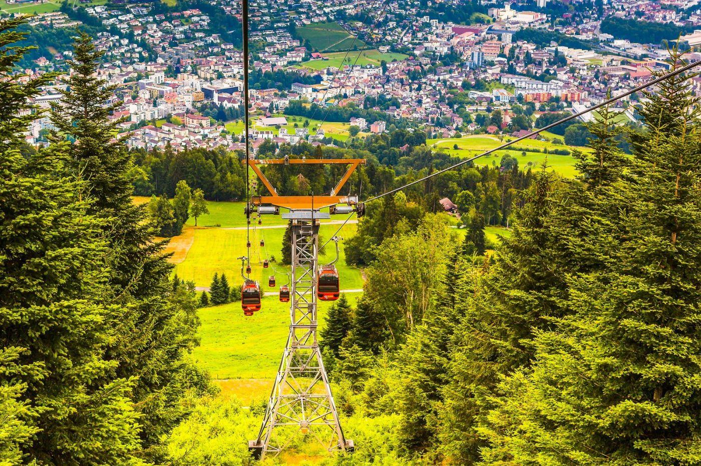 瑞士卢塞恩(Lucerne),坐缆车看风景_图1-9