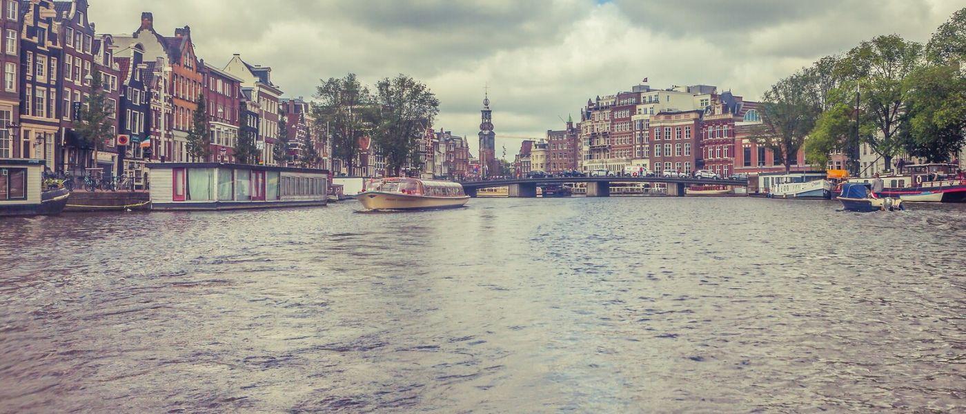 荷兰阿姆斯特丹,坐游船看老城_图1-34