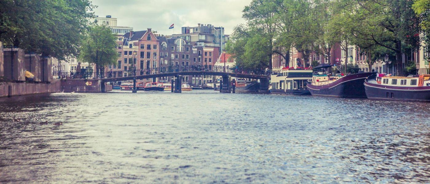 荷兰阿姆斯特丹,坐游船看老城_图1-35