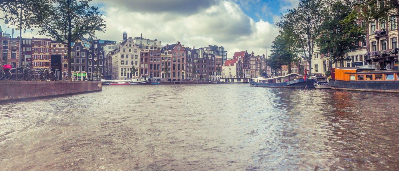 荷兰阿姆斯特丹,坐游船看老城_图1-31