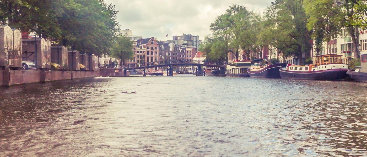 荷兰阿姆斯特丹,坐游船看老城_图1-36