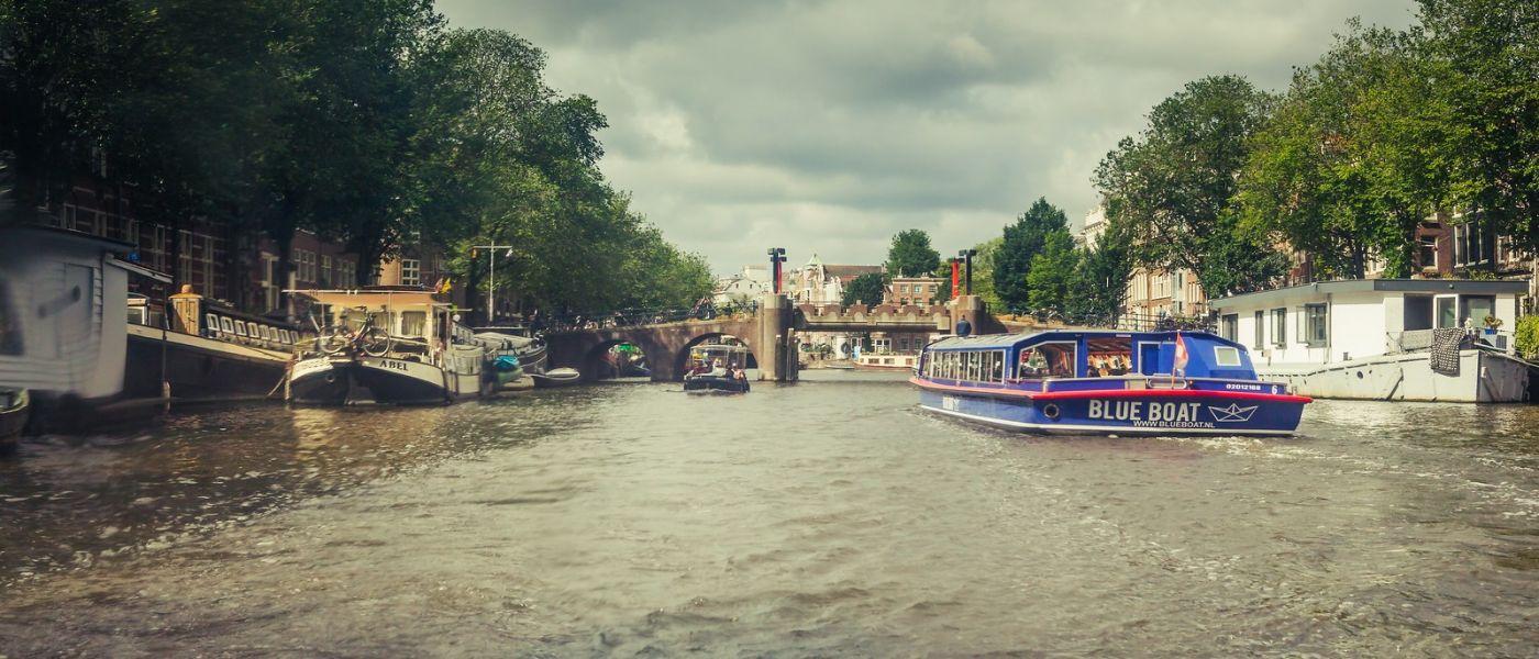 荷兰阿姆斯特丹,坐游船看老城_图1-32
