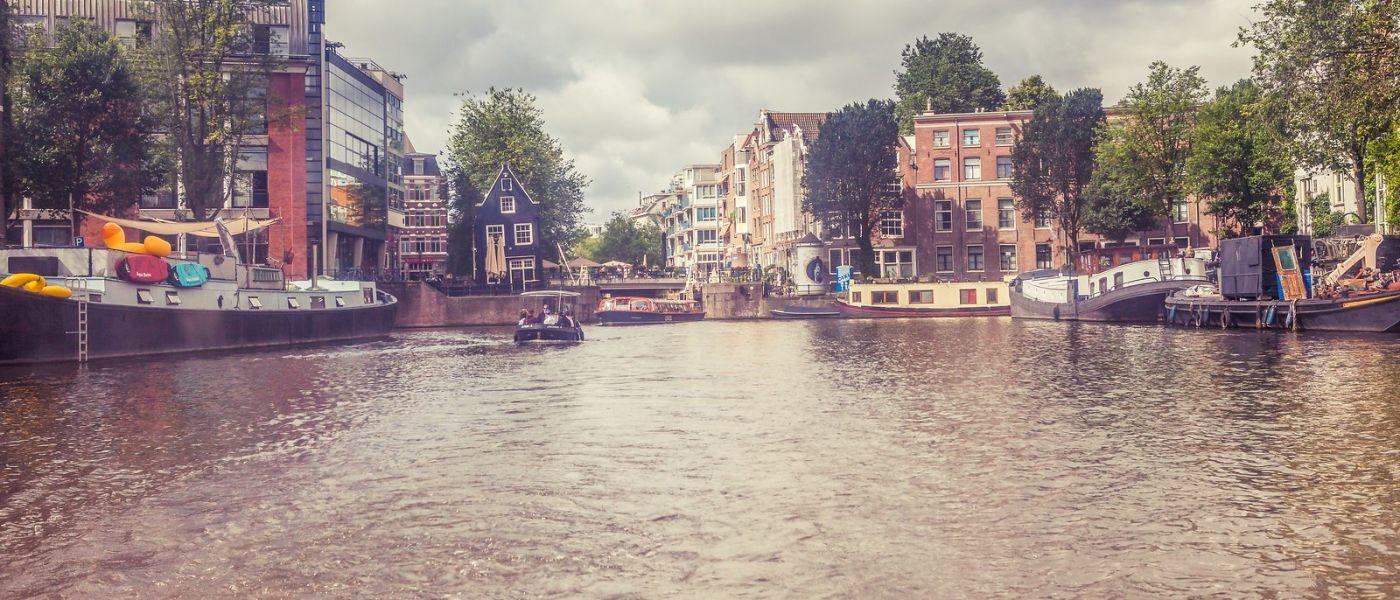 荷兰阿姆斯特丹,坐游船看老城_图1-29