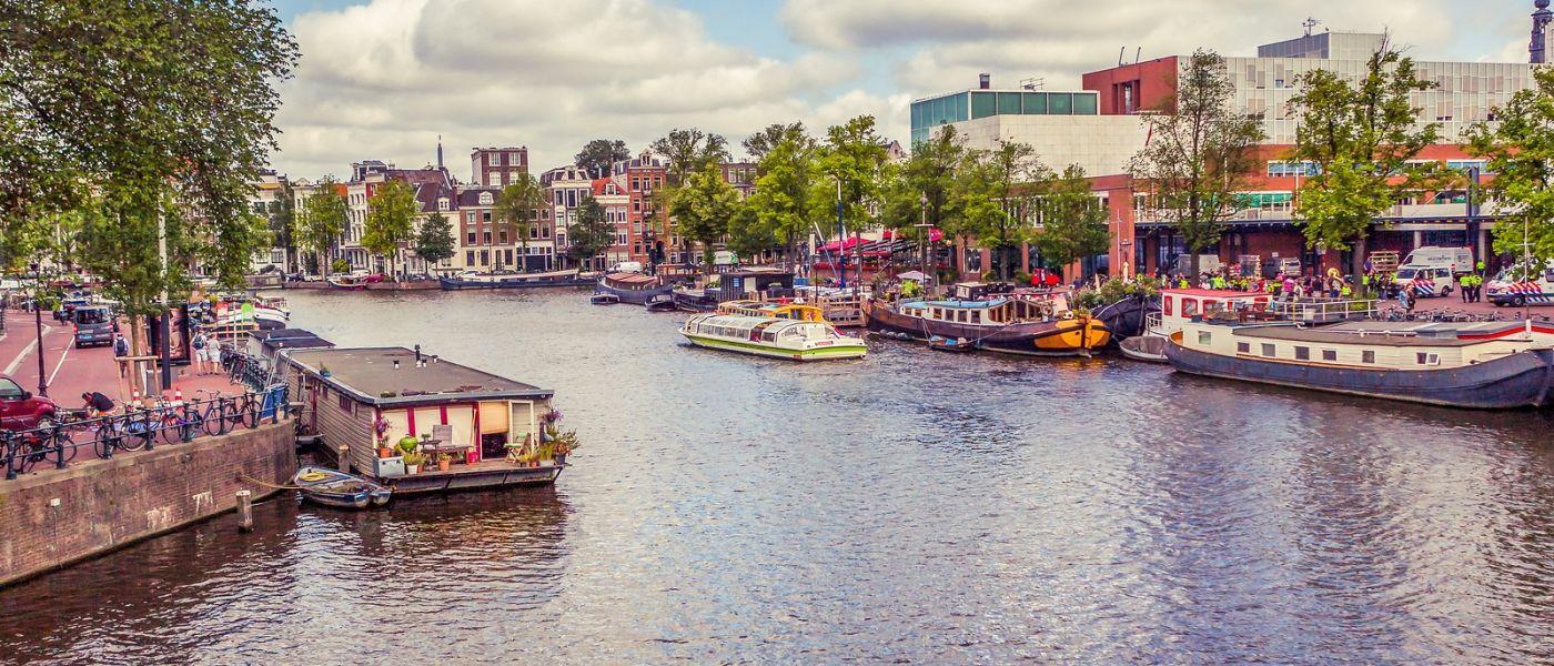 荷兰阿姆斯特丹,坐游船看老城_图1-25