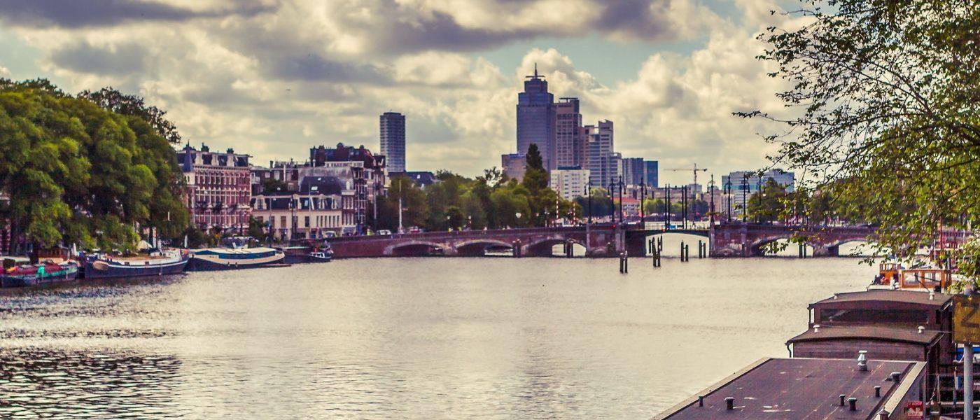 荷兰阿姆斯特丹,坐游船看老城_图1-26
