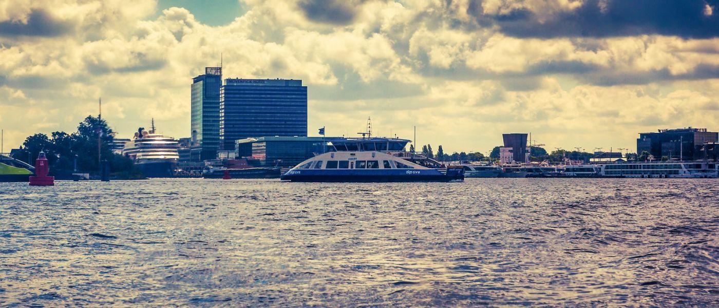 荷兰阿姆斯特丹,坐游船看老城_图1-28