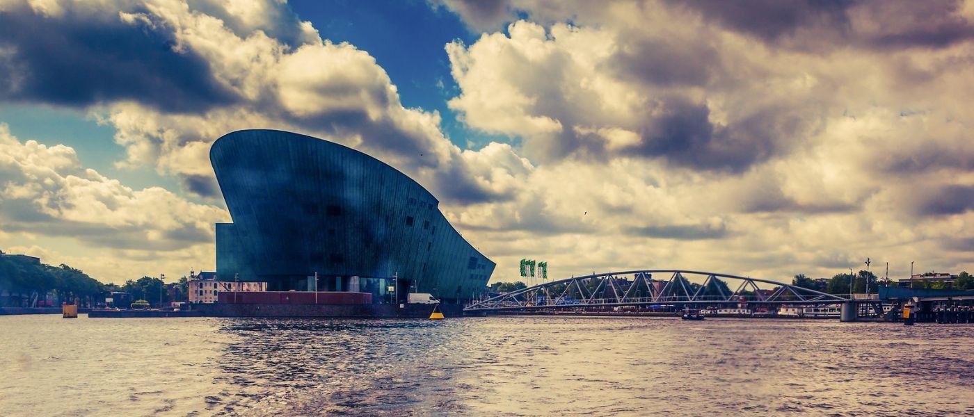 荷兰阿姆斯特丹,坐游船看老城_图1-24