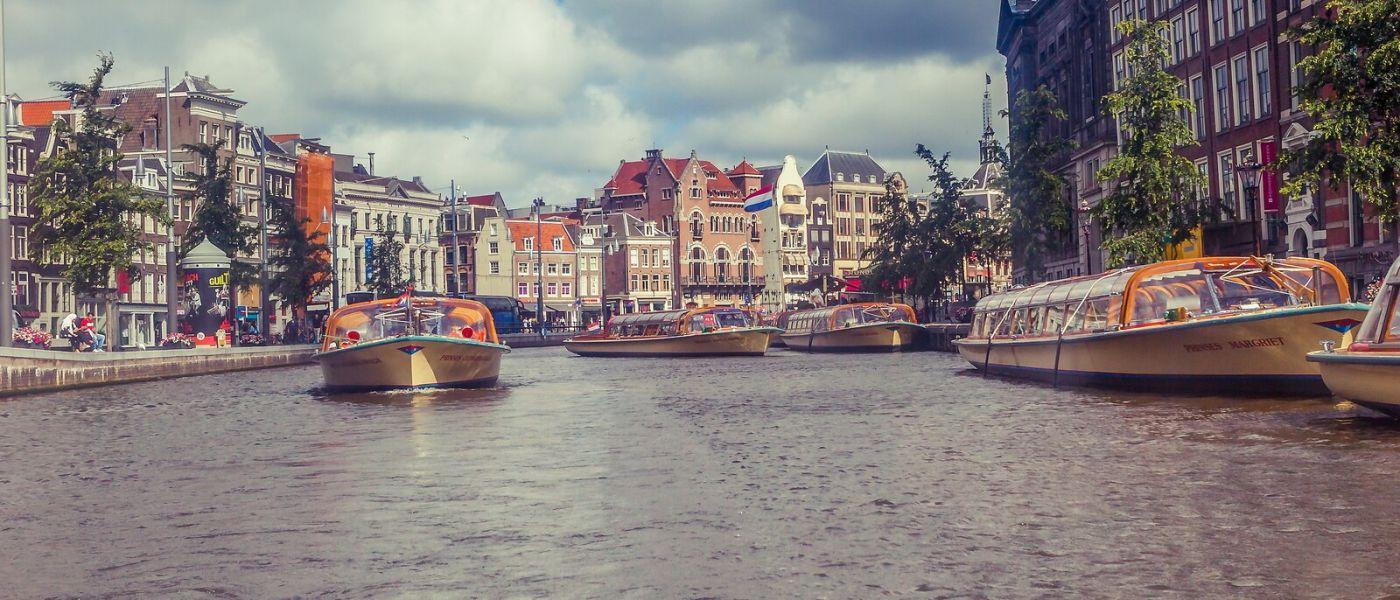 荷兰阿姆斯特丹,坐游船看老城_图1-23