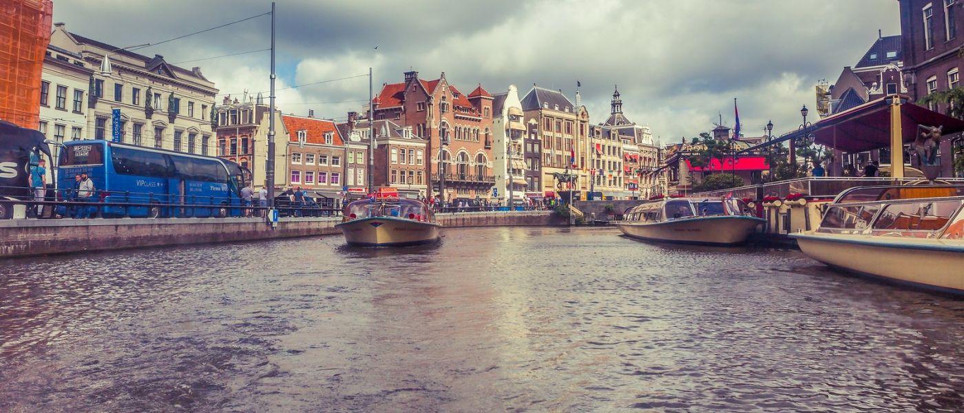 荷兰阿姆斯特丹,坐游船看老城_图1-22