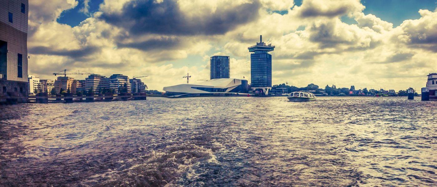 荷兰阿姆斯特丹,坐游船看老城_图1-21