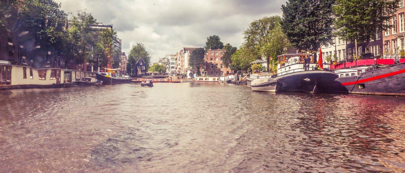 荷兰阿姆斯特丹,坐游船看老城_图1-17