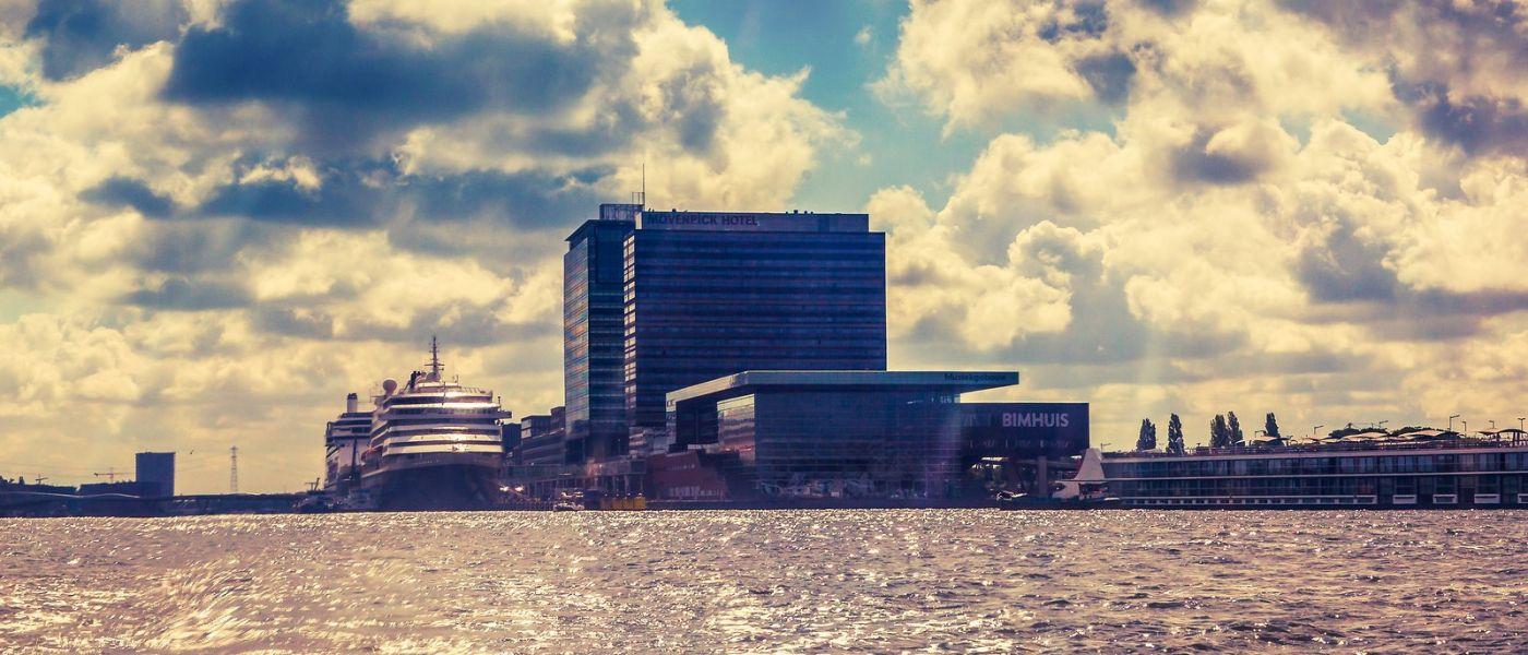 荷兰阿姆斯特丹,坐游船看老城_图1-18