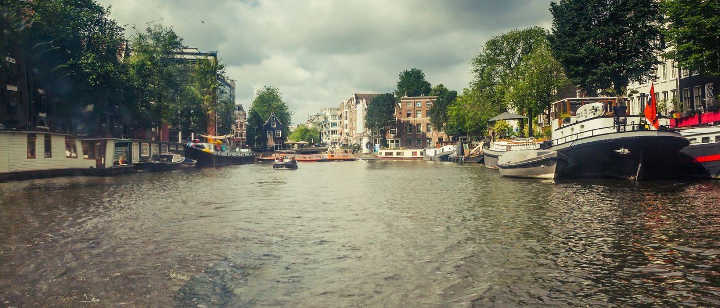 荷兰阿姆斯特丹,坐游船看老城_图1-19