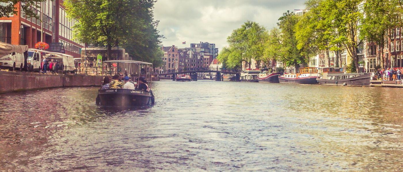荷兰阿姆斯特丹,坐游船看老城_图1-37