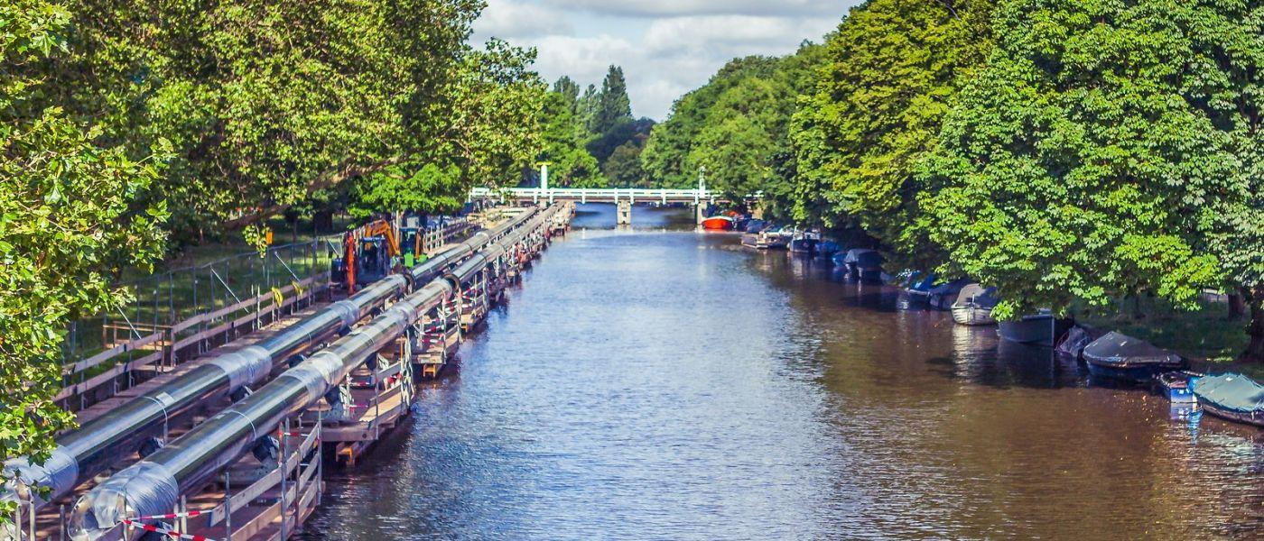 荷兰阿姆斯特丹,坐游船看老城_图1-38