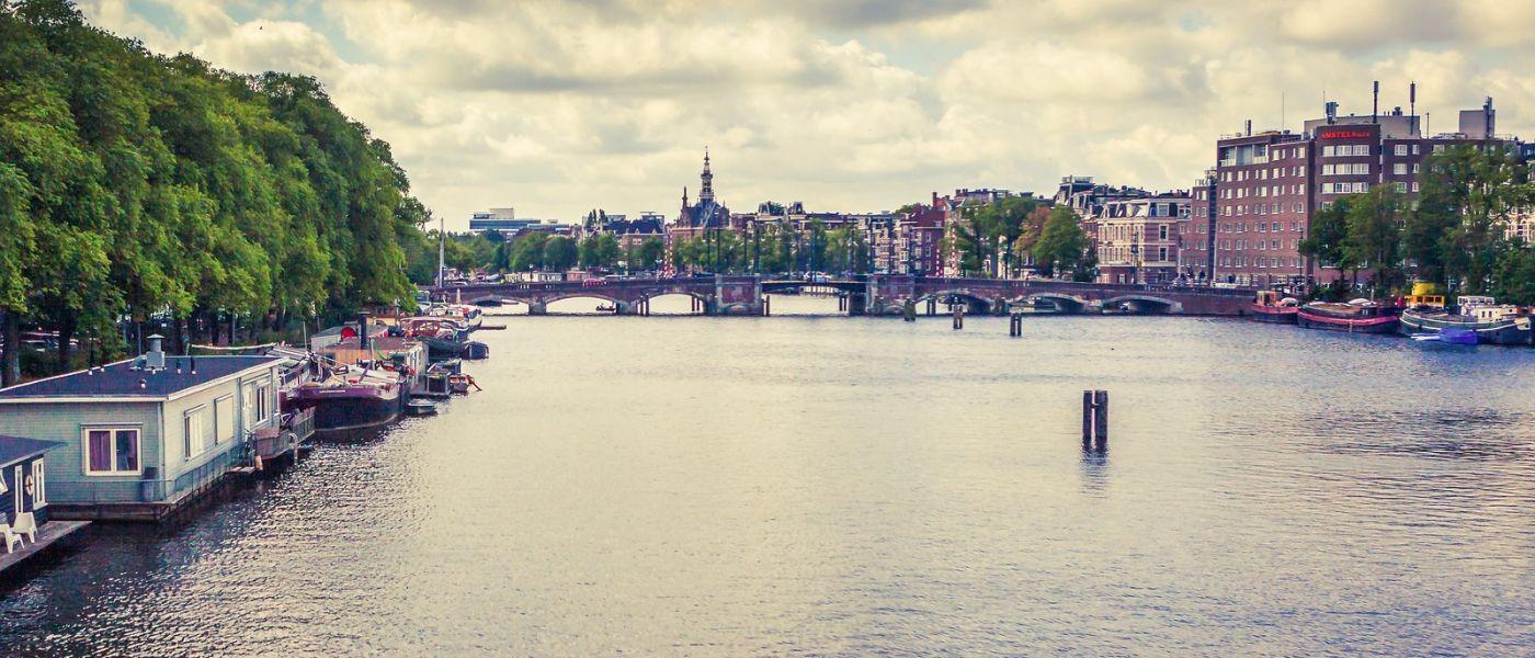 荷兰阿姆斯特丹,坐游船看老城_图1-39