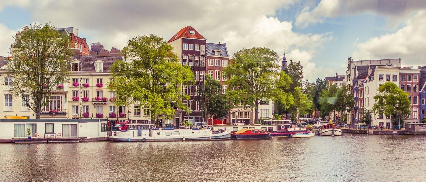 荷兰阿姆斯特丹,坐游船看老城_图1-16