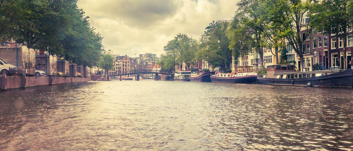 荷兰阿姆斯特丹,坐游船看老城_图1-14