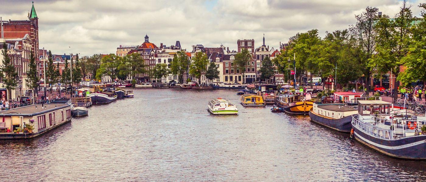 荷兰阿姆斯特丹,坐游船看老城_图1-13