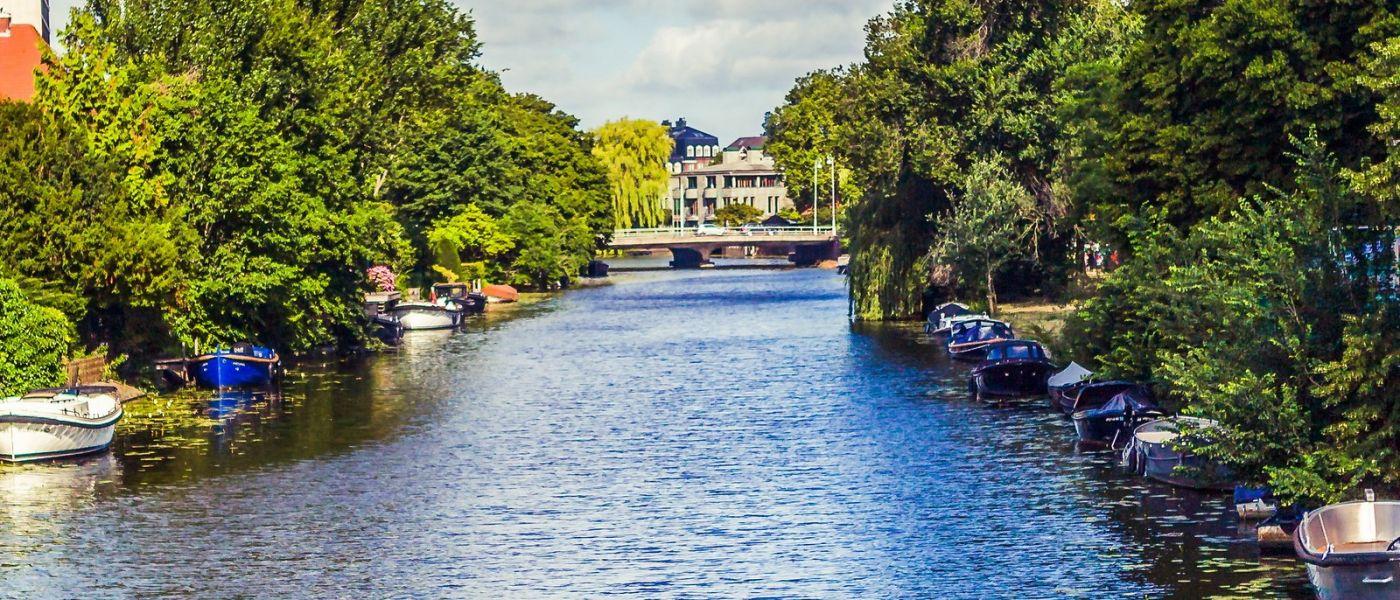 荷兰阿姆斯特丹,坐游船看老城_图1-9