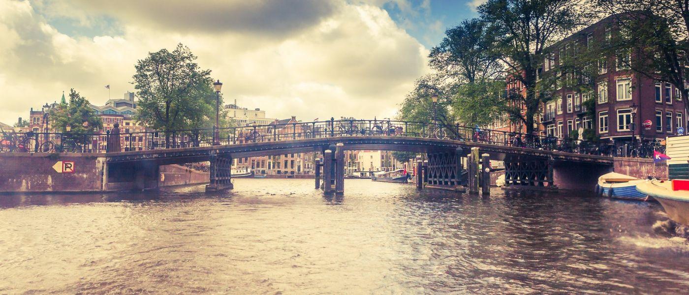 荷兰阿姆斯特丹,坐游船看老城_图1-10